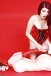 Preview Rubber Dollies - Dominant Yolanda makes Szandora submit with bondage tape